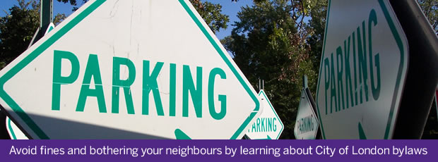 Avoid fines and bothering your neighbours by learning about City of London bylaws