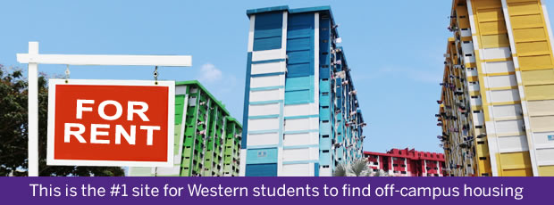 This is the No. 1 site for Western students to find off-campus housing